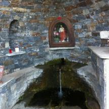 Messe à la chapelle du Sacré-Coeur de Canaghja