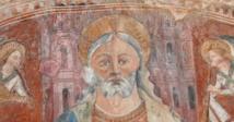 Christ en Majesté entouré d'anges musiciens