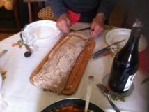 Recette de la pulenta de farine de châtaigne