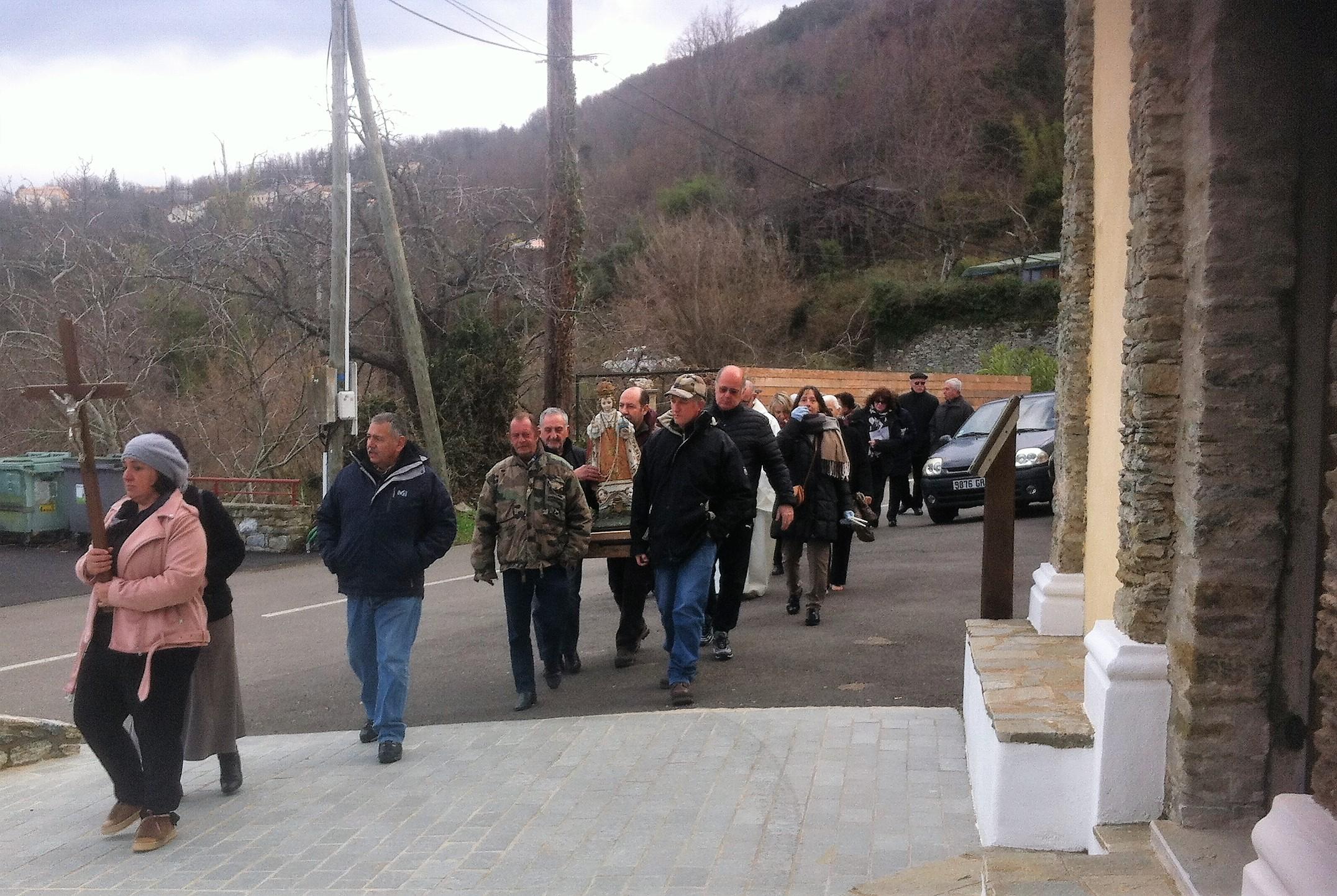Messe à Canaghja -