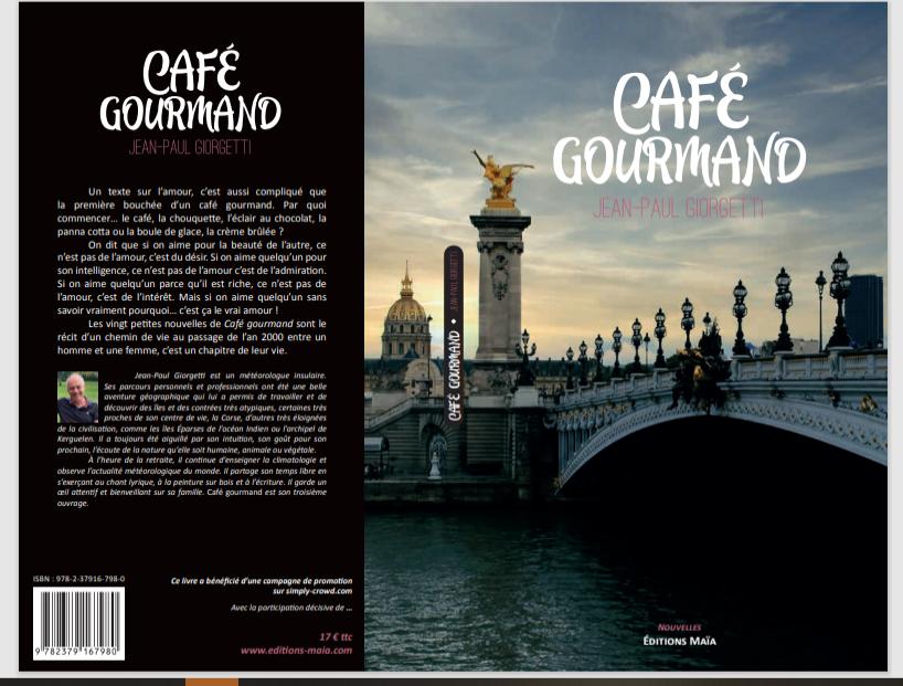 """""""Café gourmand"""" BIENTOT SUR VOS ETAGERES"""